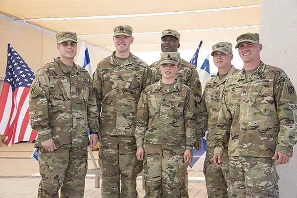 В Израиле размещена первая база ВС США