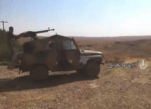 Вооруженные УАЗ-3151 в Сирии