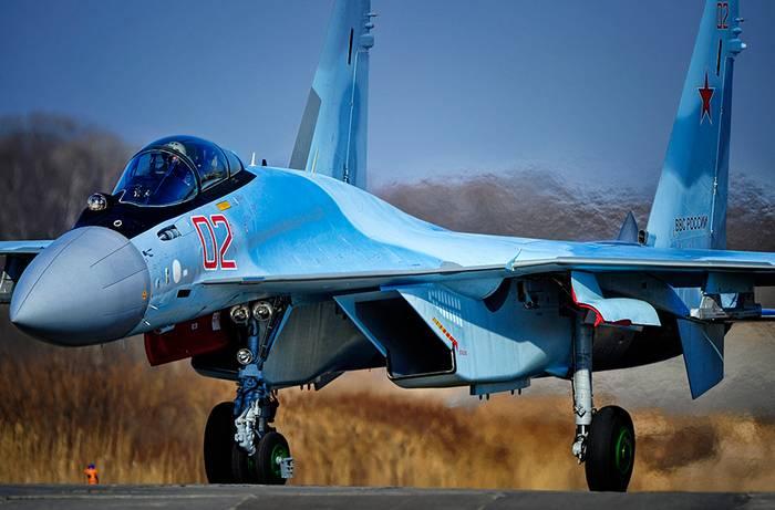 Lutador Su-35C adotado pelo exército russo