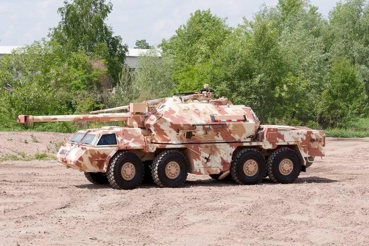 Самоходная артиллерийская установка ShKH vz. 77 DANA (Чехословакия)