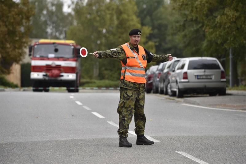 Uma explosão trovejou na Academia Militar da República Tcheca