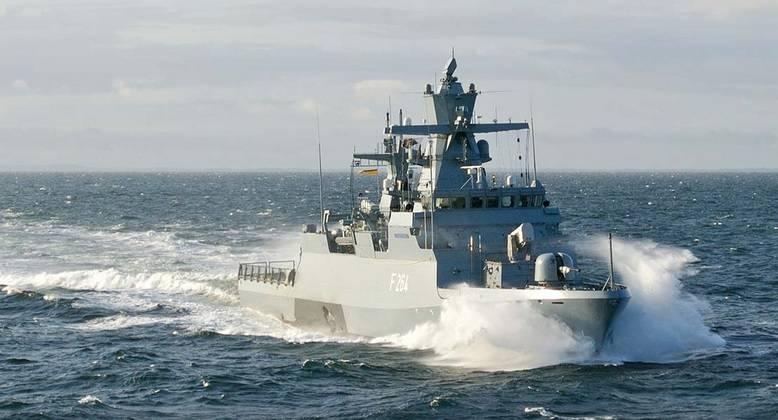 Alemanha encomendou corvetas X-NUMX classe K-5