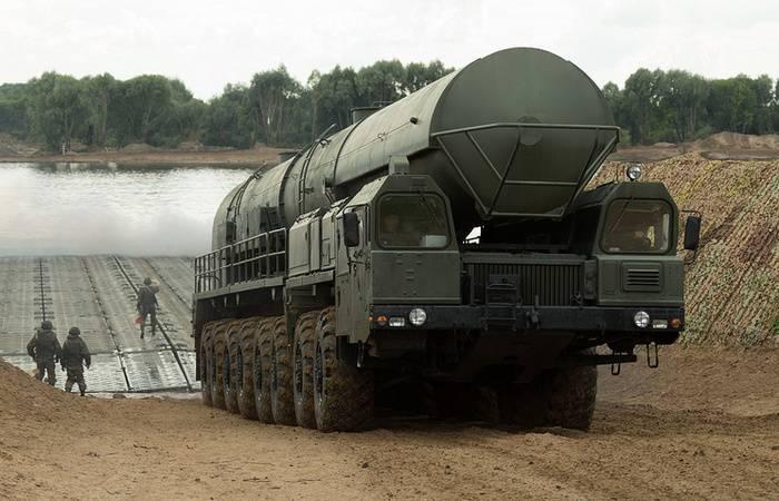 """Минобороны провело испытательный пуск ракеты """"Ярс"""" с Плесецка"""