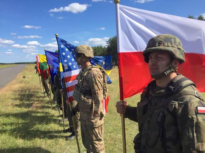 Os maiores exercícios militares Dragon-2017 começaram na Polônia