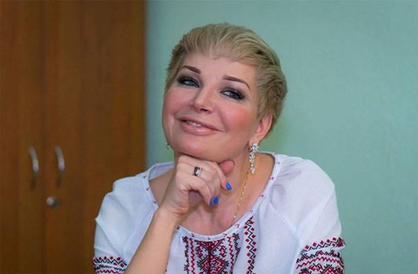 Maksakova em Kiev: Eu me sinto seguro, porque comigo 24 horas da SBU