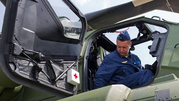 """""""हेलिकॉप्टर्स ऑफ रशिया"""" पहली बार एक्सपोर्ट अटैक हेलीकॉप्टर Mi-28HE """"नाइट हंटर"""" पर डाला"""