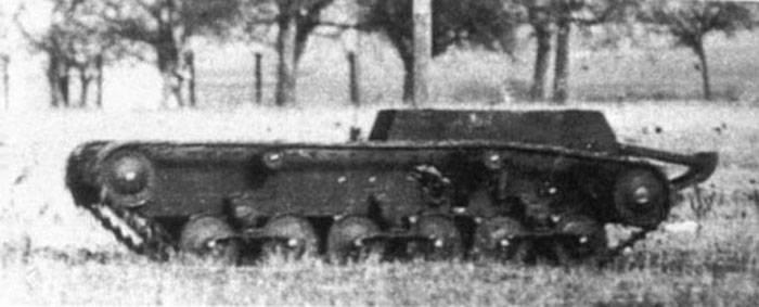 Torpedo de tierra Véhicule Pommellet (Francia)