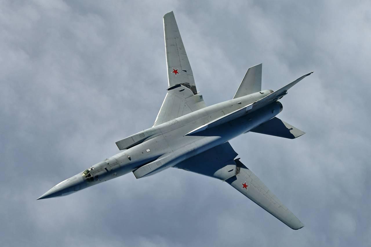 Русские бомбардировщики выполнили полёты над Балтийским иНорвежским морями