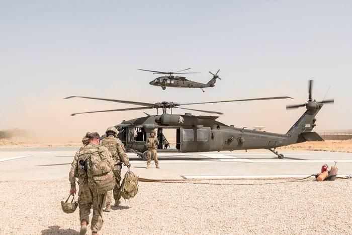 """La Russie a exprimé sa méfiance à l'égard des États-Unis en raison des """"hélicoptères non identifiés"""" en Afghanistan"""