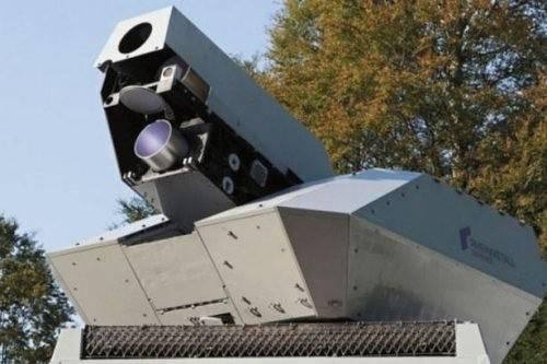Американская Lockheed Martin обнародовала кадры испытаний лазерной установки