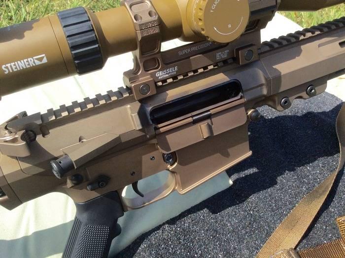 La compañía estadounidense Geissele presentó un rifle VSASS.