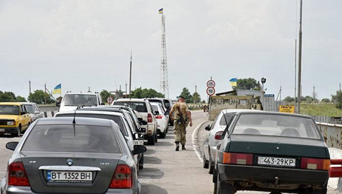 Chongar에 우크라이나 탑은 러시아 라디오 방송을 우크라이나에 방송하기 시작했습니다.
