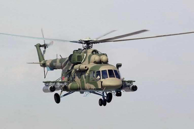 Очередной Ми-8 АМТШ поступил в авиачасть в Забайкалье