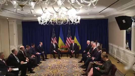 Трамп - Порошенко: Украина не самое лёгкое место для жизни