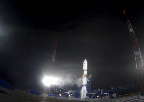 Foguete Soyuz-2 com um satélite de navegação lançado a partir do cosmódromo de Plesetsk