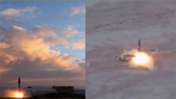 Irán ha probado un misil balístico.