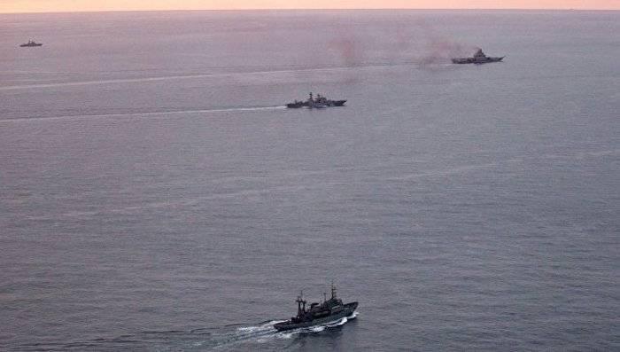 Los barcos de la flota del norte entraron en el mar de Laptev.