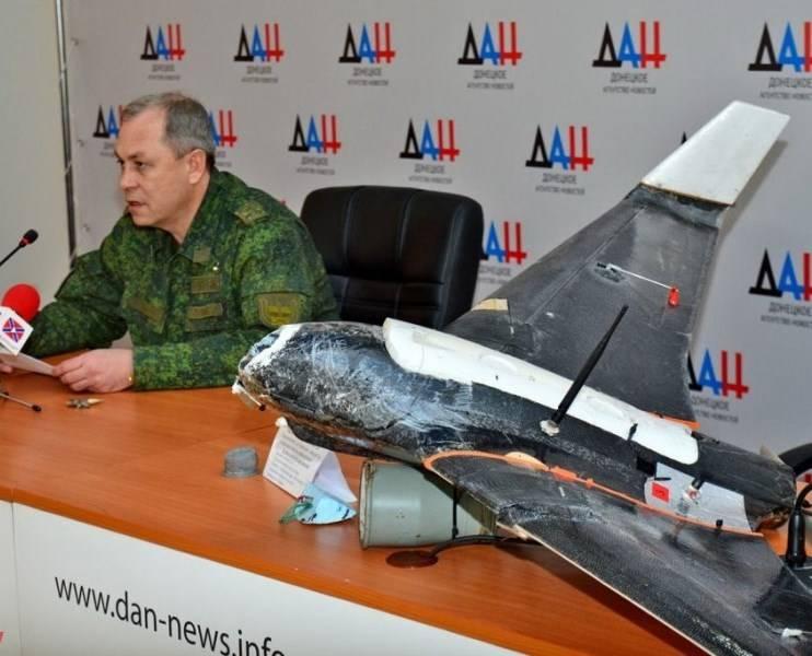 Basurin: APU intensificou o uso de VANTs com granadas de fragmentação