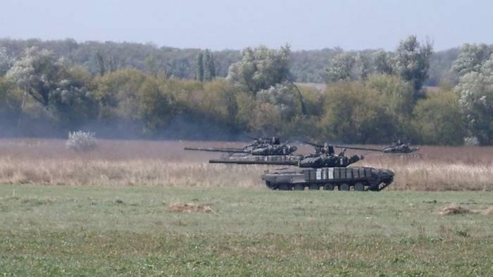 Petroleiros ucranianos realizaram exercícios de normas da OTAN