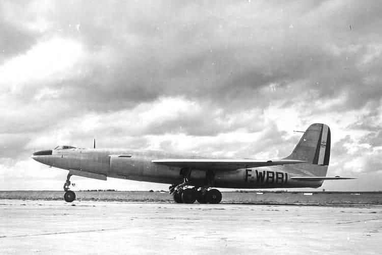 Bombardeiro a jato experimental SNCASO SO.4000 Vautour I