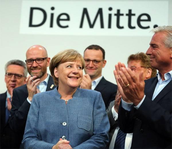 Cuarto término Angela Merkel
