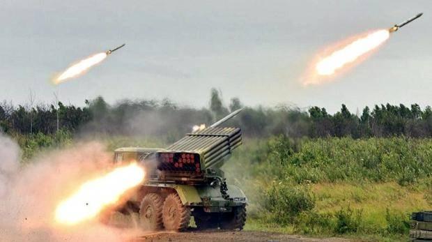 РСЗО «Град» отработали под Челябинском около 40 огневых задач