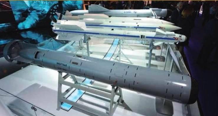 Revista francesa sobre los nuevos cohetes rusos X-38МЭ y АПР-3МЭ