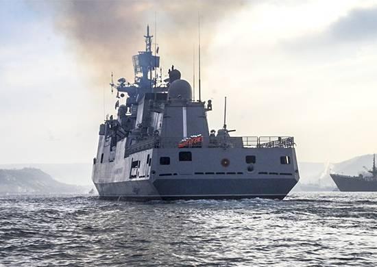 """""""Адмирал Григорович"""" идёт к греческому Корфу, а Украина против..."""