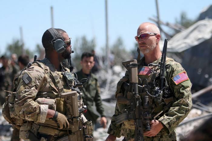 La coalición respondió a las declaraciones rusas sobre las fuerzas especiales de EE. UU. En posiciones de IG *