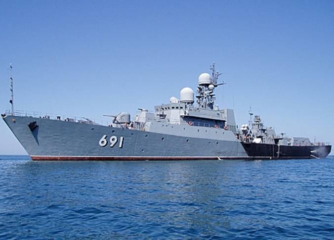 CFLの船は越境レーダーを含む演習を実施しました