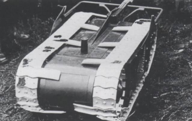 Torpedo terrestre Vickers Mobile Land Mine (Reino Unido)