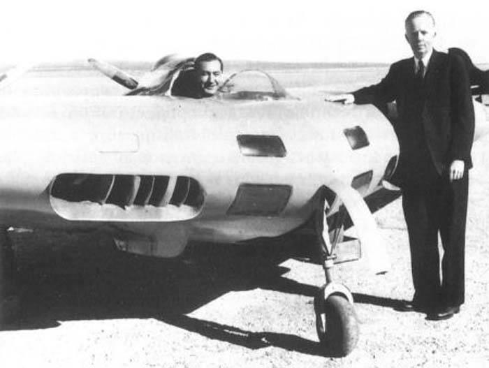 Экспериментальный самолет Northrop N1M (США)