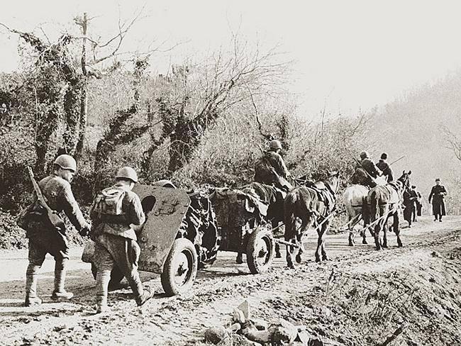 Historias sobre armas. Cañón de montaña 76-mm Modelo 1938 del año