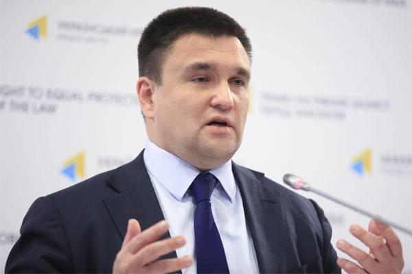 Klimkin: Posse da língua ucraniana é uma questão de segurança nacional