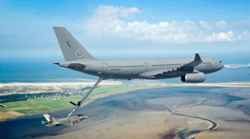 Alemania y Noruega están comprando cinco aviones cisterna Airbus A330