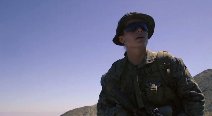 アメリカ海兵隊におけるジェーンの最初の「兵士」