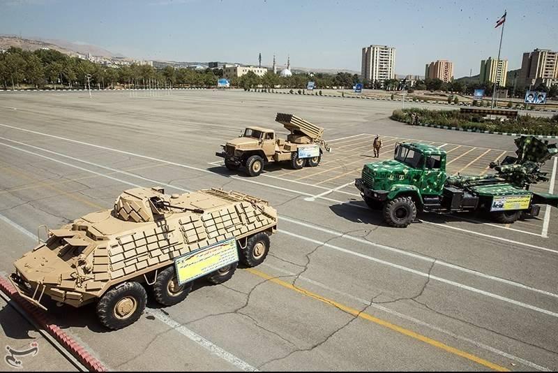 В Иране представили «три новых достижения» сухопутных сил страны
