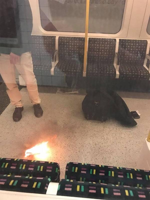 ロンドンの地下鉄で新たな爆発