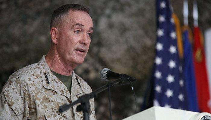 "Dunford: Rusia ""socava la confianza en la OTAN"""