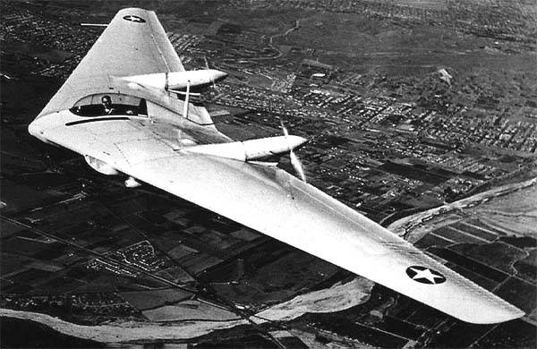 Avion expérimental Northrop N9M (USA)