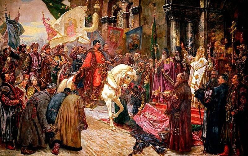 La política de vectores múltiples de Bogdan, o el camino de los cosacos hacia Rusia.
