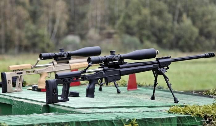 Rifle de francotirador de precisión adoptado por el FSB, FSO y la Guardia Rusa