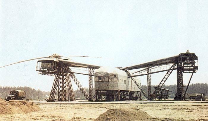 Вертолёт В-12 (Ми-12). Непревзойдённый шедевр
