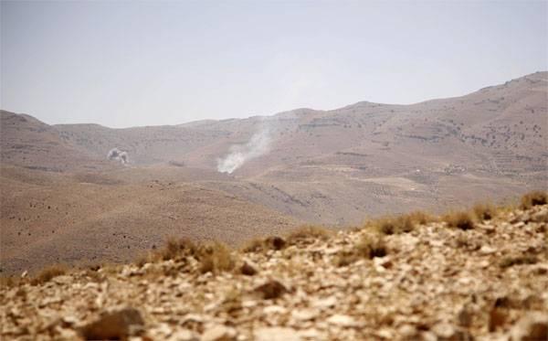 美国联军在叙利亚使用白磷弹药