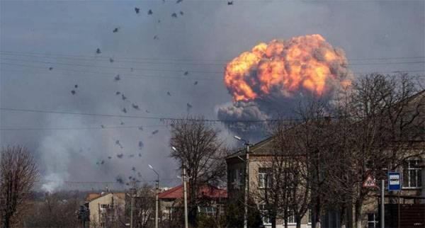 Предпосылкой пожара наскладах боеприпасов под Винницей была диверсия— ВСУ