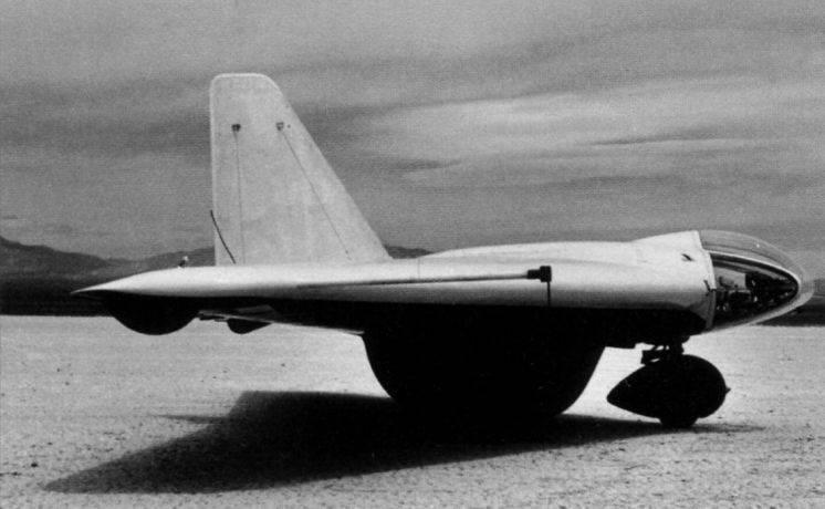 Avion expérimental Northrop MX-324 et MX-334 (USA)