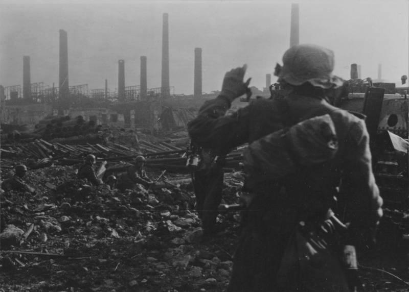 对斯大林格勒的第二次攻击。 H. 2