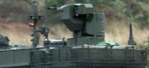 """ZiD"" criado para a metralhadora tanque T-90M ""Kord MT"""