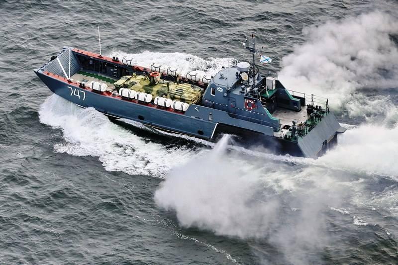 Los barcos de CFL han completado el aterrizaje en Daguestán