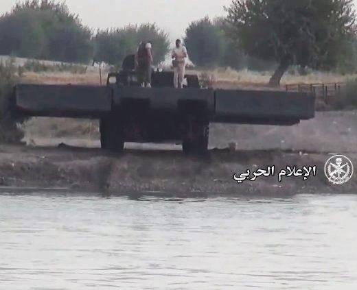 Russo PMM-2М já envia equipamentos sob Deir ez-Zor